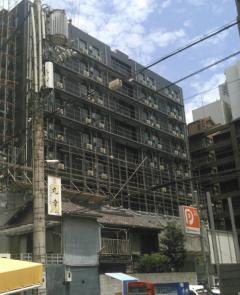 島之内ビジネスホテル新築工事