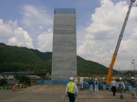 宇治田原上りP4施工完了