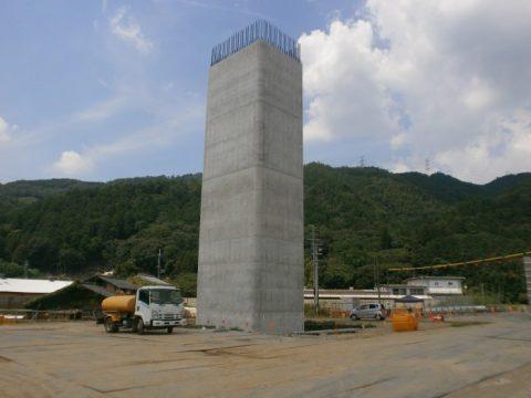 宇治田原上りP3施工完了